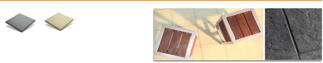 Adbri Masonry Euro Slate Pavers 400mm x 400mm