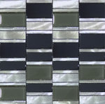 Industrial Brushed Stainless Mosaic