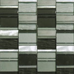 Industrial Brushed Zinc Mosaic