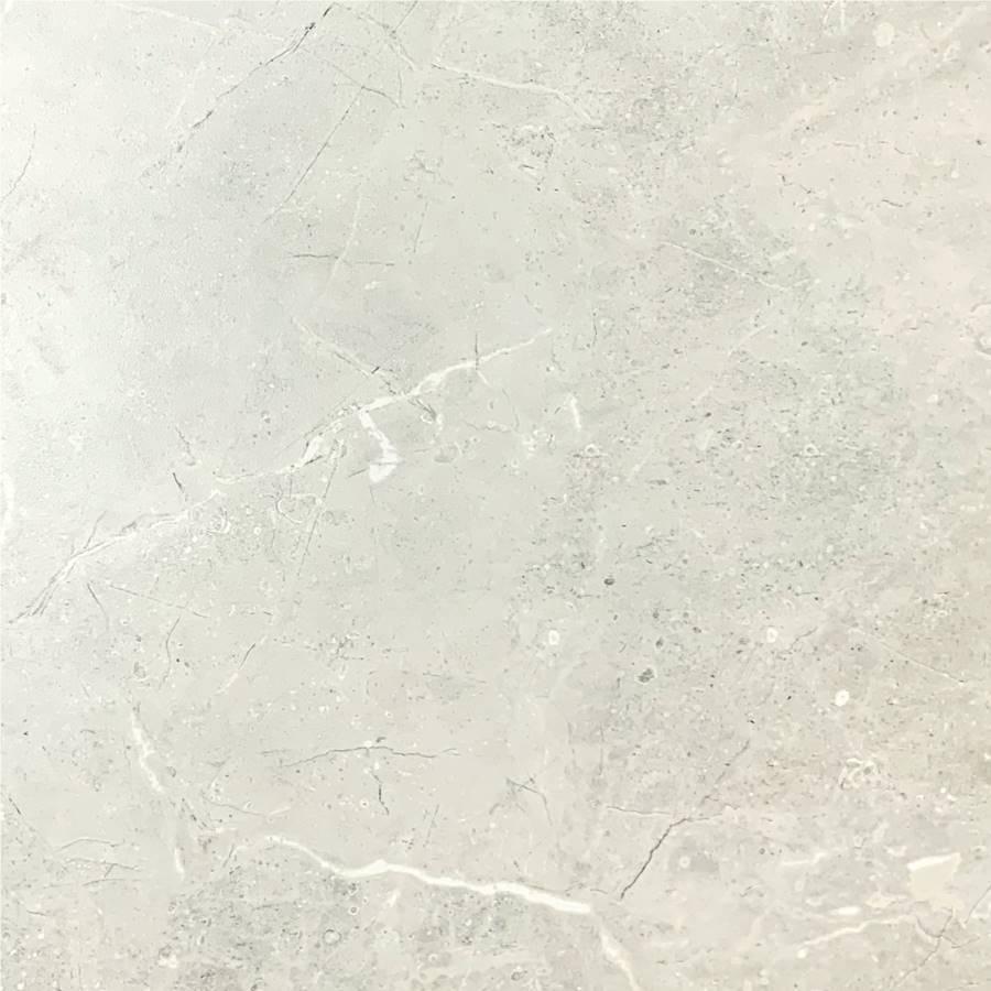 Bora Light Grey Polished Tile 600x600 Tile Stone Paver