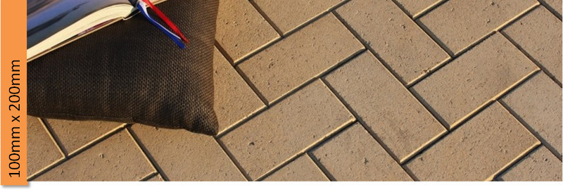 Concrete Pavers 100mm x 200mm