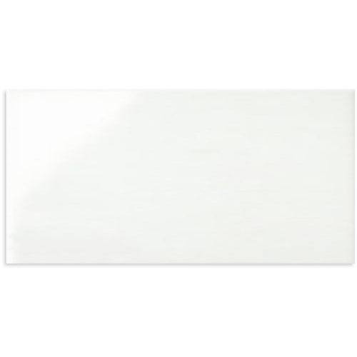 White Gloss Rectified Edge Wall Tile 300x600