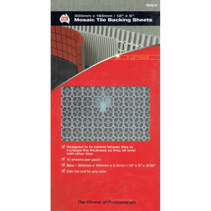 Dta Mosaic Spacer Sheet 150x300 10 Pack Tile Stone Paver
