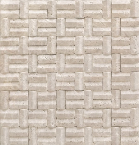 Travertine Cross Ridge Mosaic