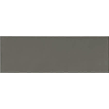 Long Charcoal Gloss Wall Tile 200x600