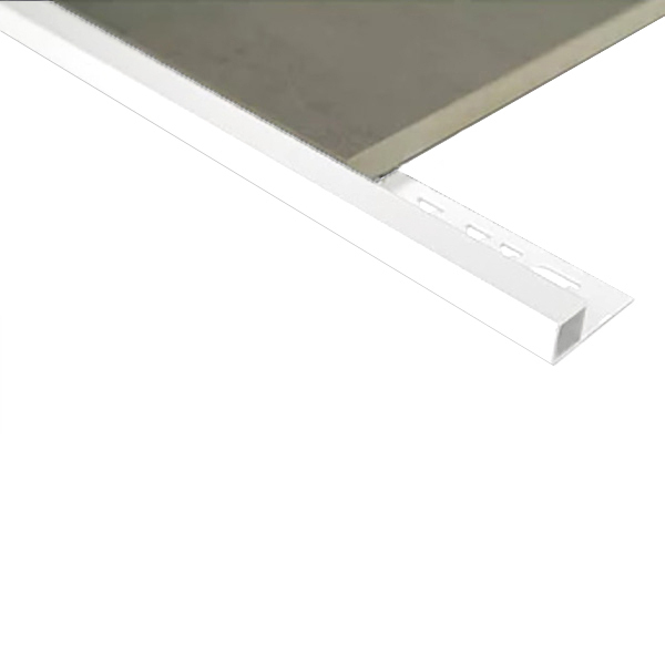 Mosaic Corner Tile trim 6.5mm x 3m (Gloss White)