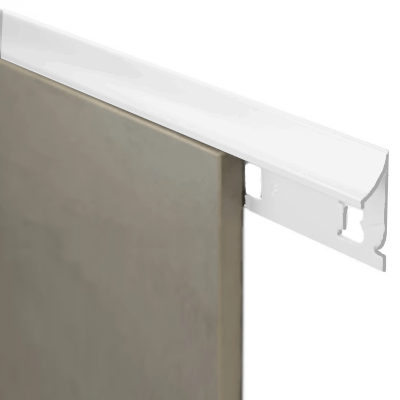 Top Trim 8.5mm x 3m (Gloss White)