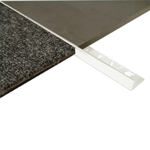 L Angle Aluminum Trim 8mm x 3metre (Gloss White)