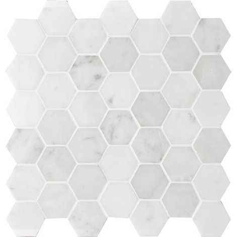 Montage Sirocco Hexagon Mid #1 Ice Mosaic