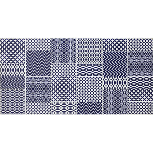 Folio Graphica Navy Wall Tile 300x600