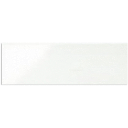 Dualtech Bianco Gloss Wall Tile 200x600