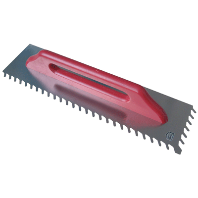 Raimondi Long Blade Slant Ridge Trowel (8mm)