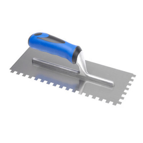Stainless Steel Notched Adhesive Trowel 8mm