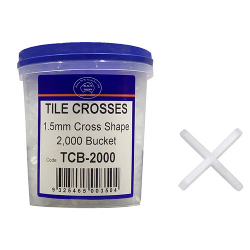 1.5mm Tile Spacers (2000 Bucket)