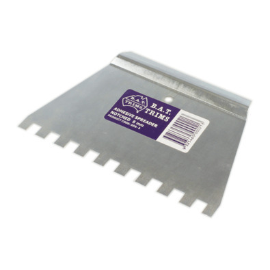 Galvanised Tile Adhesive Spreader (12mm)