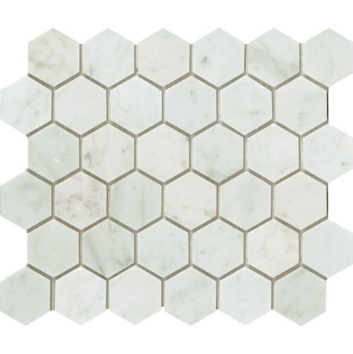 Carrara Hexagonal 57x49