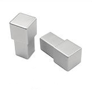 Corner Trim Suits MCA/MCG 12.5mm (Bright Silver)