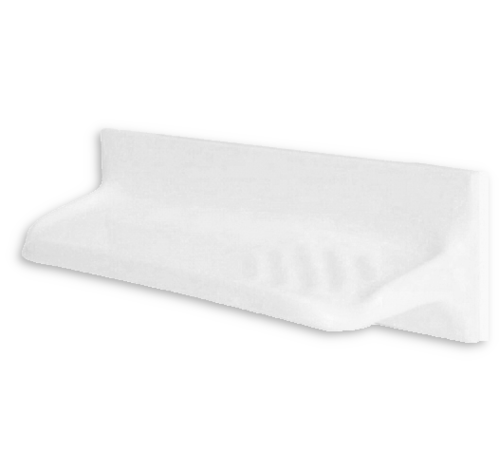 Ceramic Soap Shelf 300 X 100 (White)