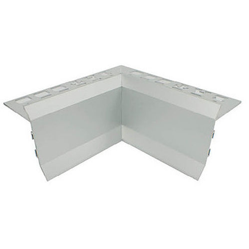 Balcony Trim 3m x 12mm Internal Corner (Matt Silver)