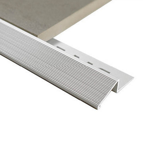 Aluminium Diminishing trim 10mm x 3m (Matt Silver)