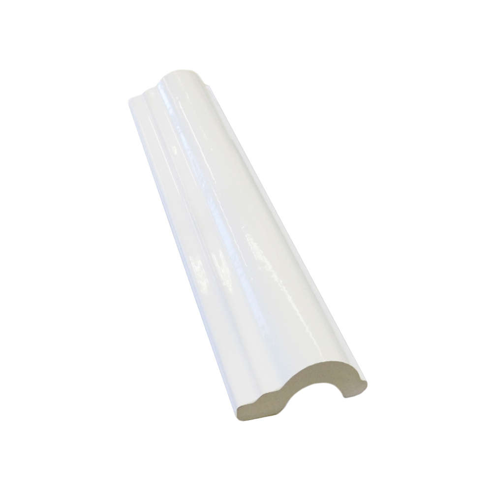 Capping Tile - White 40x197