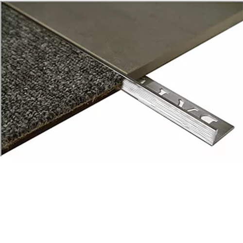 L Angle Aluminium Tile trim 8mm x 3metre (Linished)