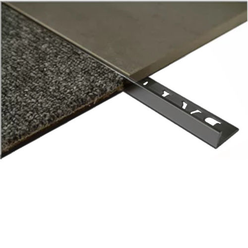 L Angle Aluminium Trim 8mm x 3metre (Matt Black)