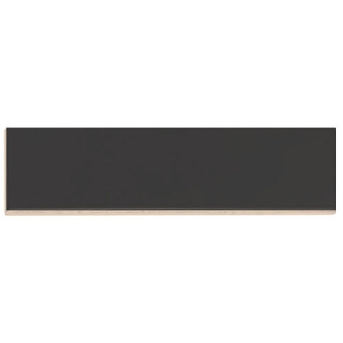 Easy Black Matt Wall Tile 75x300