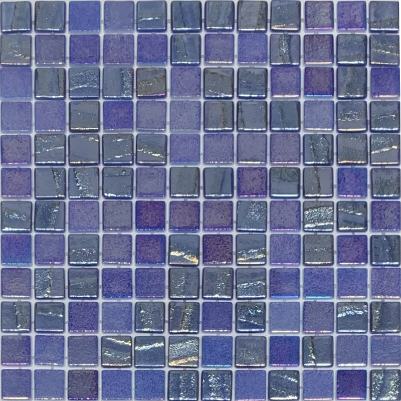 Vidrepur Fusion Dark Blue Glass 25x25