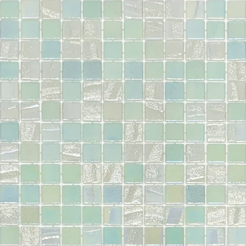 Vidrepur Fusion White Glass 25x25