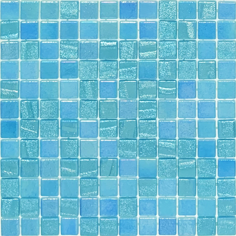 Vidrepur Fusion Light Blue Glass 25x25
