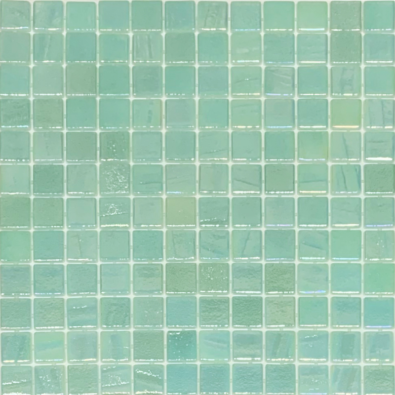 Vidrepur Fusion Light Green Glass 25x25