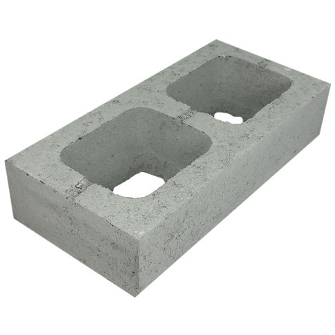 Concrete Grey Block Half Height 20.71