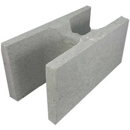 Concrete Grey Block H 20.48