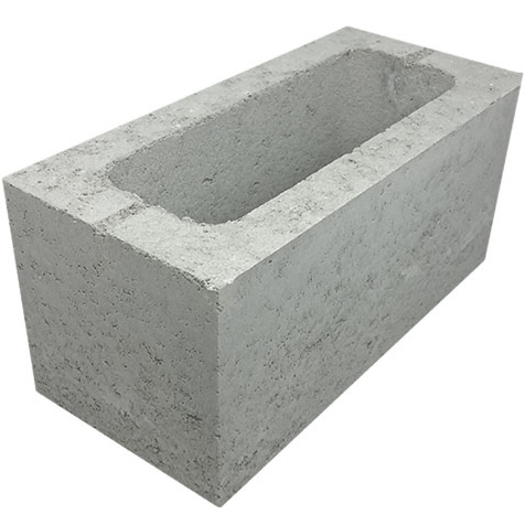 Concrete Grey Block Single Core 20.925
