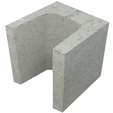 Concrete Grey Block Half Lintel 20.13