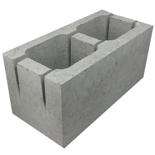 Concrete Grey Block Knockout Bond Beam 20.20