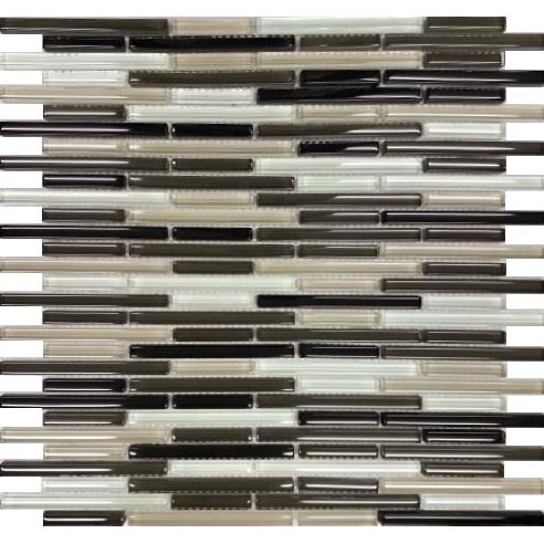 Choc Stix Glass Mosaic