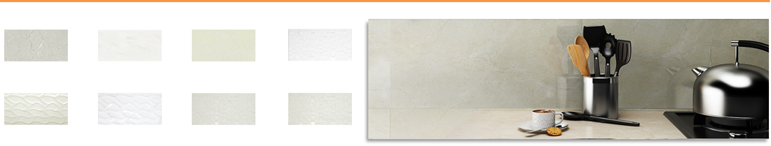 Charm Ceramic Wall Tiles - Matching Floor Tiles Available