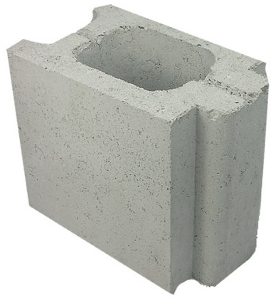 Grey Block 1/2 Control Joint 15.10