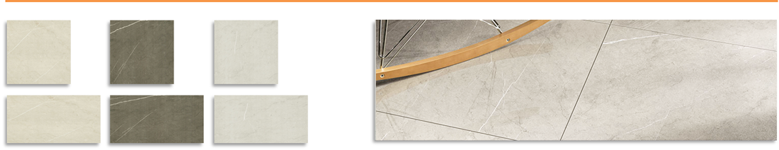 Pietra Glazed Porcelain Floor Tiles