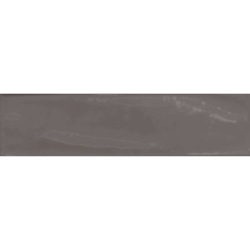 Pasha Gunmetal Grey Gloss Wall Tile 75x300