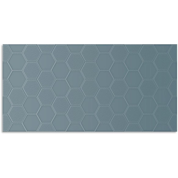 Infinity Geo French Blue Wall Tile 300x600