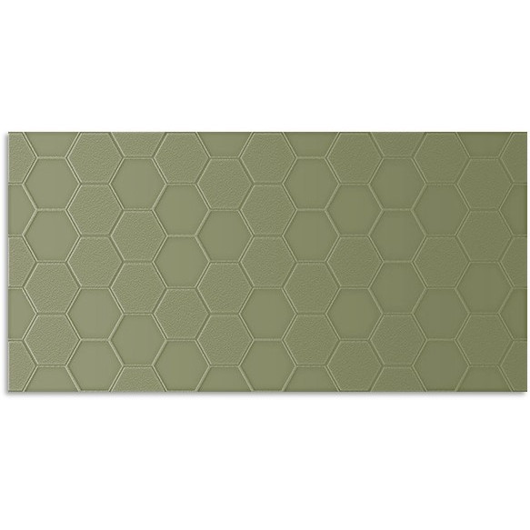 Infinity Geo Olive Wall Tile 300x600