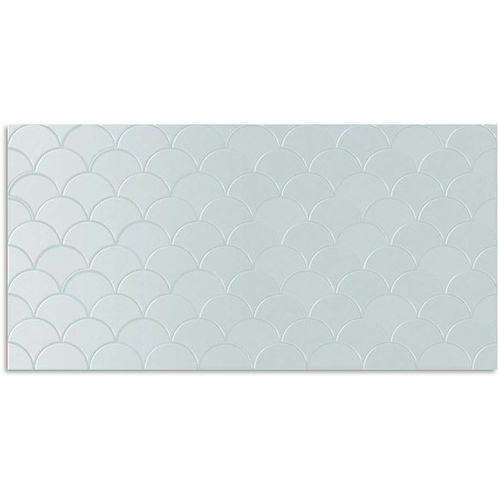 Infinity Koi Duck Egg Wall Tile 300x600