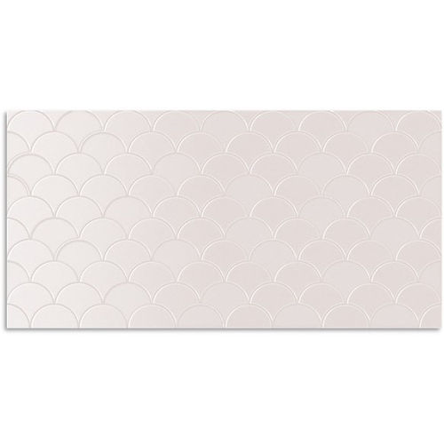 Infinity Koi Dusty Pink Wall Tile 300x600