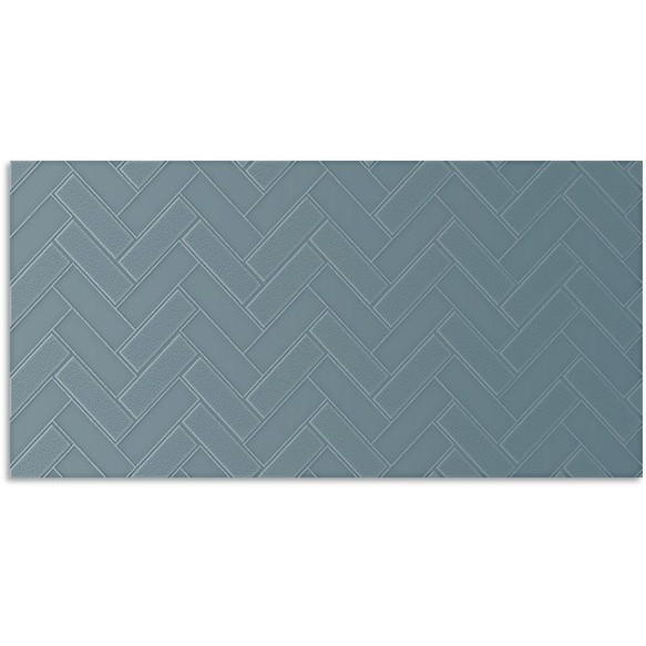 Infinity Mason French Blue Wall Tile 300x600