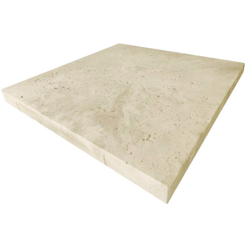 Travertine Chalk Paver 500x500