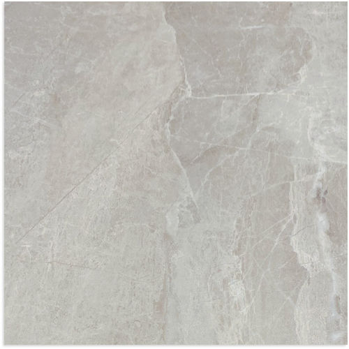 Mainstream Silver Matt Tile 600x600