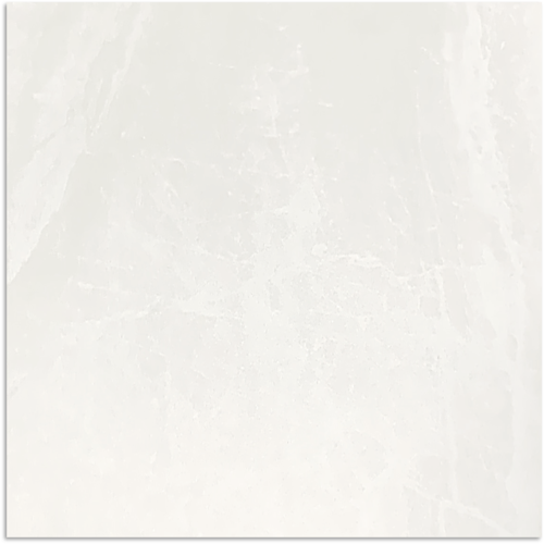 Mainstream White Matt Tile 600x600